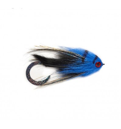 Paolo's Wiggle Tail Bunny Black and Blue 6/0