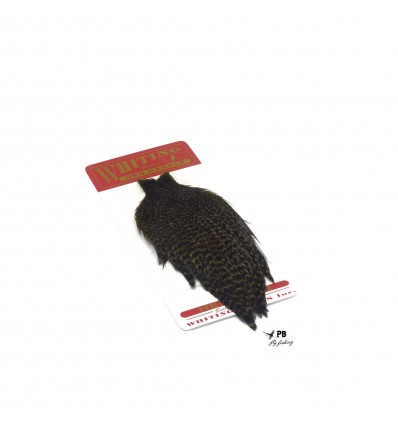 Whiting Hen Neck Grizzly Dark Olive (gallina)